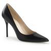 CLASSIQUE-20 Black Faux Leather